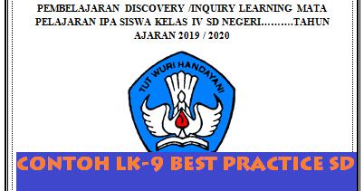 Contoh Lk 9 Best Practice Sd Tahun 2019 Guru Baik