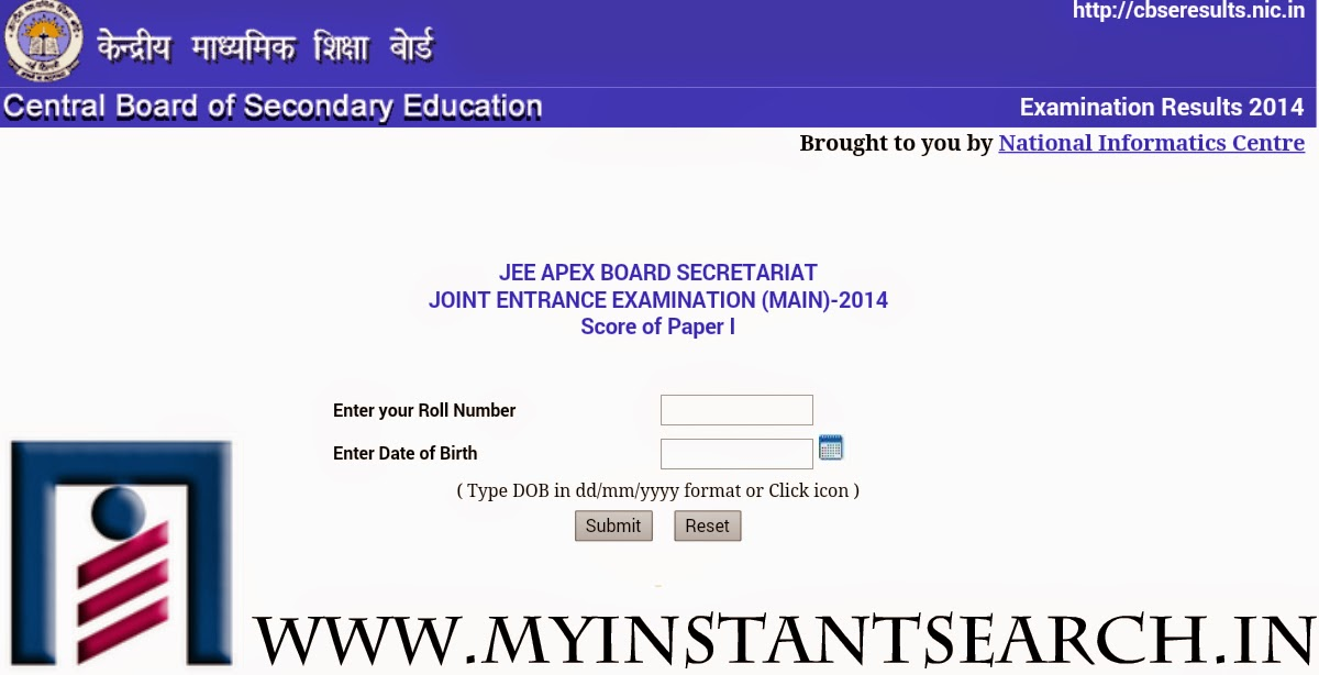 JEE(Main)-2014 : Score of Paper-1