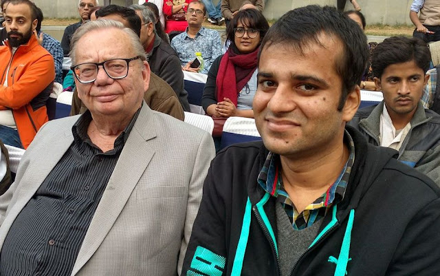 A rendezvous with the legendary author Ruskin Bond at Gurgaon Film and Literature Festival