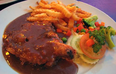 Resepi Chicken Chop Black Pepper Sauce