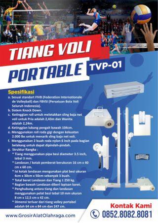 tiang voli portable tvp-01
