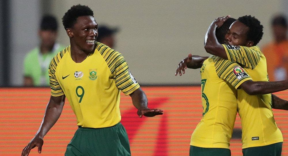 الشوط الثاني مقابلة نيجيريا امام جنوب إفريقيا في كأس امم افريقيا