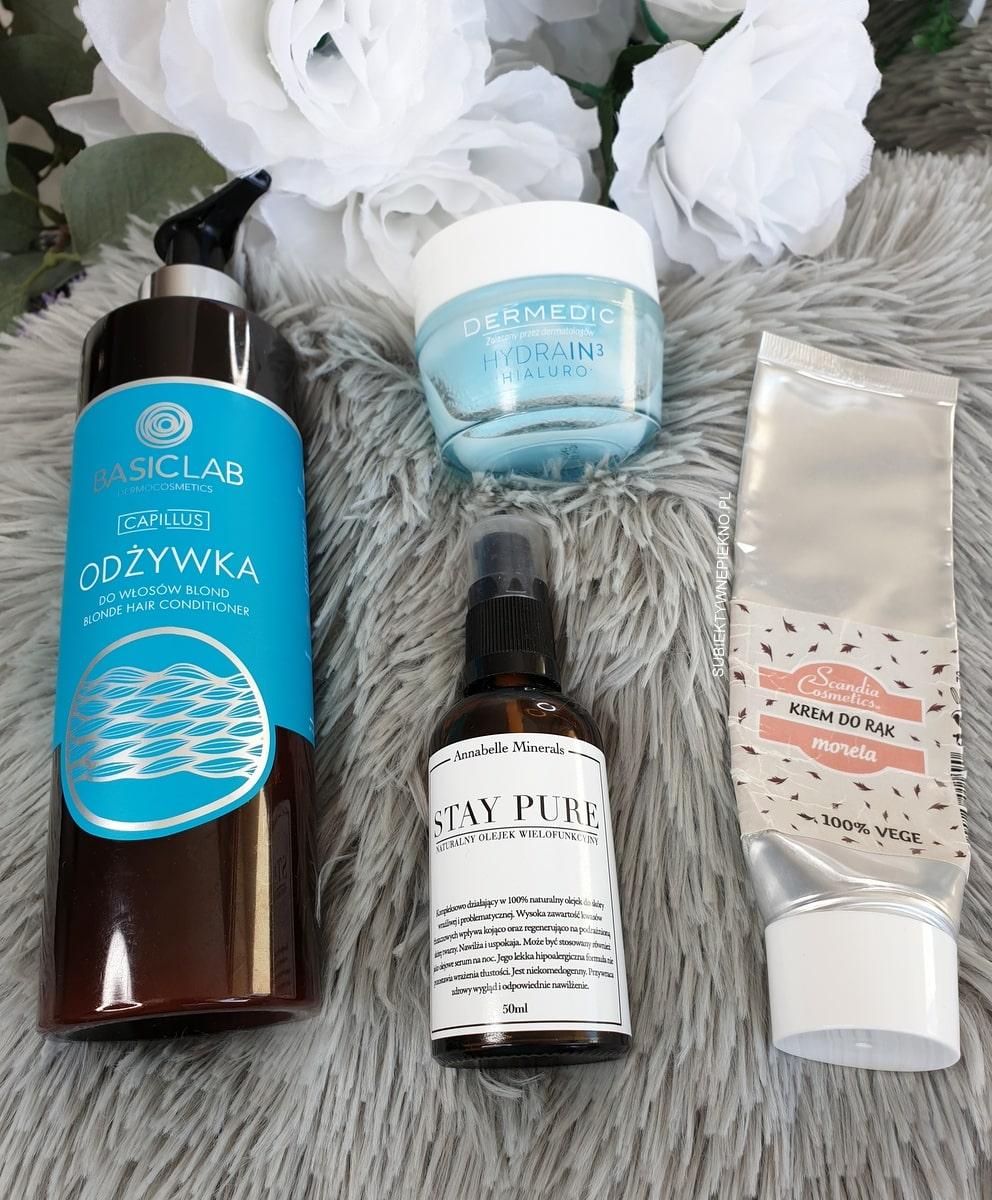 ULUBIEŃCY WRZESIEŃ 2018 | Annabelle Minerals, Scandia Cosmetics, Dermedic, Basiclab