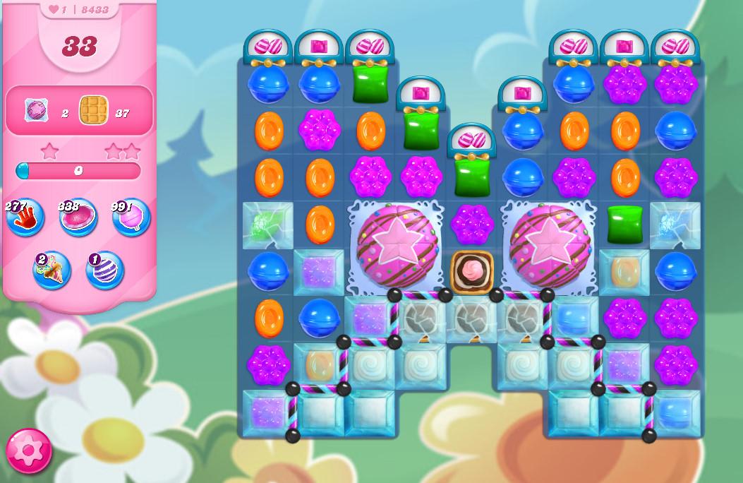 Candy Crush Saga level 8433