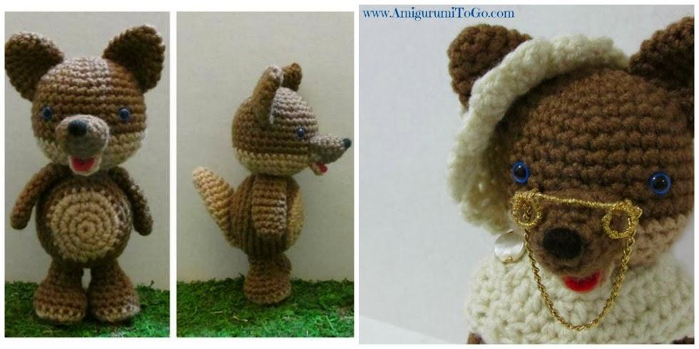 Amigurumi Bad Wolf Free Crochet Pattern | 490x980