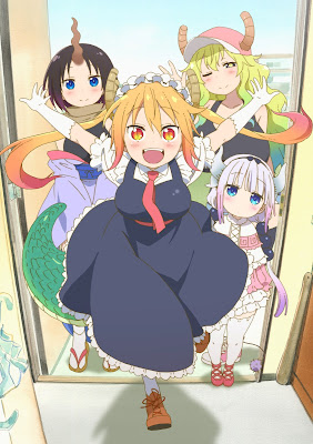 Kobayashi-san Chi no Maid Dragon Review Anime