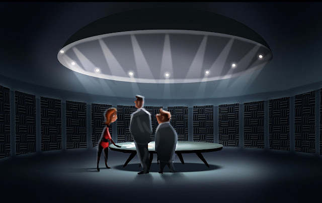 Incredibles 2 Concept Artwork - Ralph Eggleston