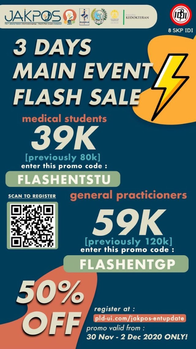 FLASH SALE 50% The 1st JAKPOS X 7th ENT Update