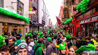 Irlande Dublin Fête de la Saint Patrick