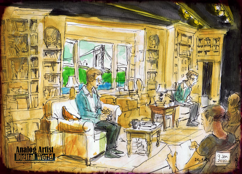 Becoming Dr Ruth Urban Sketchers