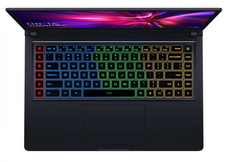 4-color LED backlit keyboard lets you game in the dark
