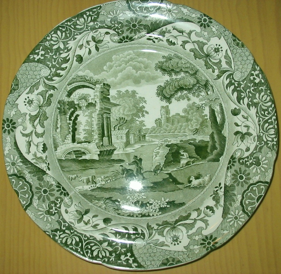 Spode history spode and italian pattern for Green italy