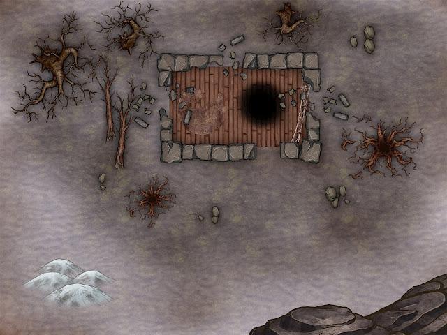 Aventura para D&D - Un Año y un Día - Cabaña Destruida