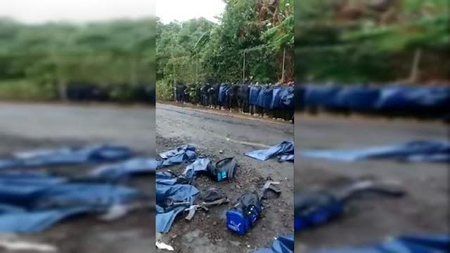 Video: 27 Sicarios del CJNG fueron capturados en Tierra Caliente, Michoacán, pero la orden fue liberarlos