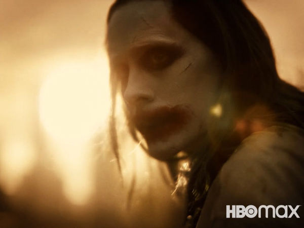 Jared Leto returns as Joker in the Zack Snyder cut of JUSTICE LEAGUE.