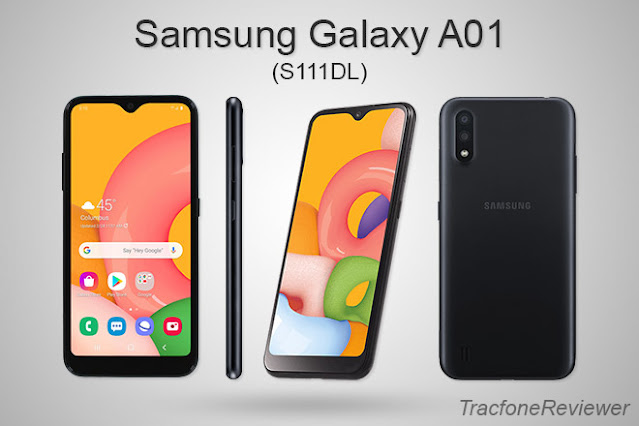 Samsung Galaxy A01 S111DL from Tracfone