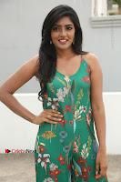 Actress Eesha Latest Pos in Green Floral Jumpsuit at Darshakudu Movie Teaser Launch .COM 0071.JPG