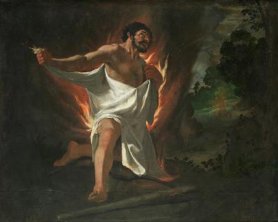 Muerte de Hércules, Francisco de Zurbarán (1634)
