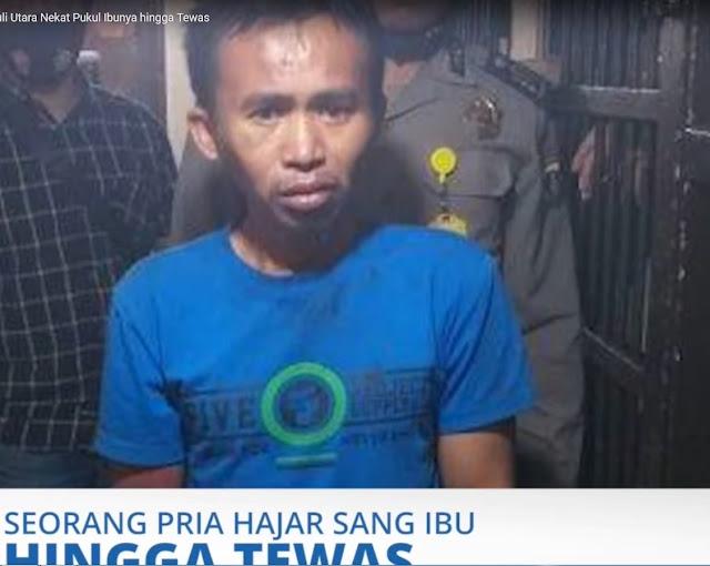 Gara-gara Tak Dimasakkan Nasi, Pria di Tapanuli Utara Nekat Pukul Ibunya hingga Tewas