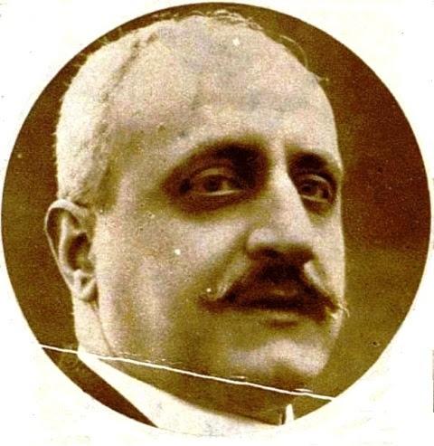 Luis París Zejín en una fotografía publicada en 1933
