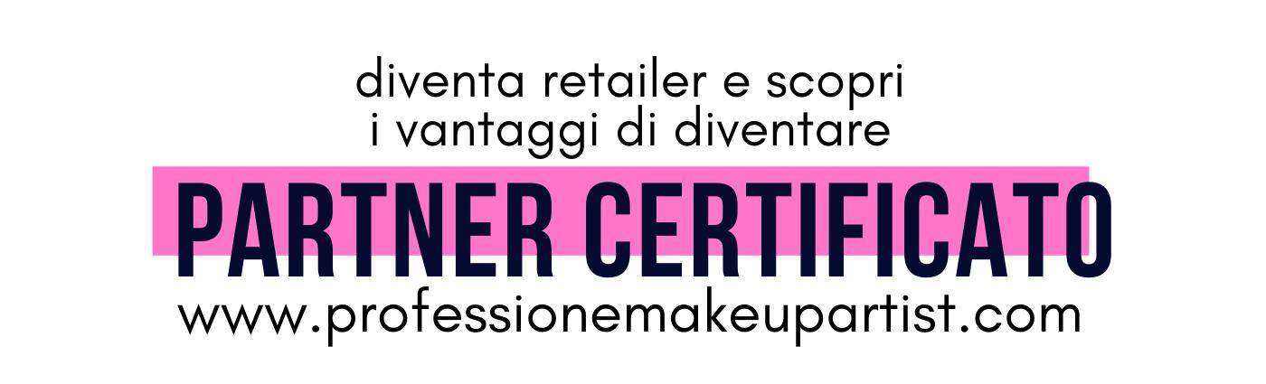 Partner Certificato Professione Make Up Artist