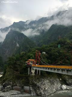 Temple Xiangde, parc national de Taroko Gorges, Hualien, Taiwan