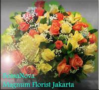 Bunga Mawar Rangkaian Untuk Hari Ibu