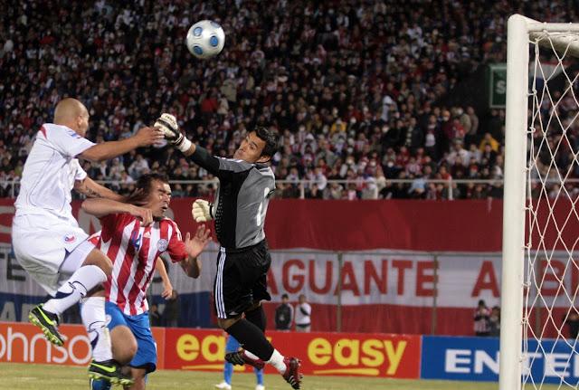 Paraguay y Chile en Clasificatorias a Sudáfrica 2010, 6 de junio de 2009