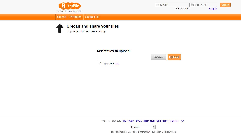Depfile Premium Reseller - FileSharingShop Com: Depfile