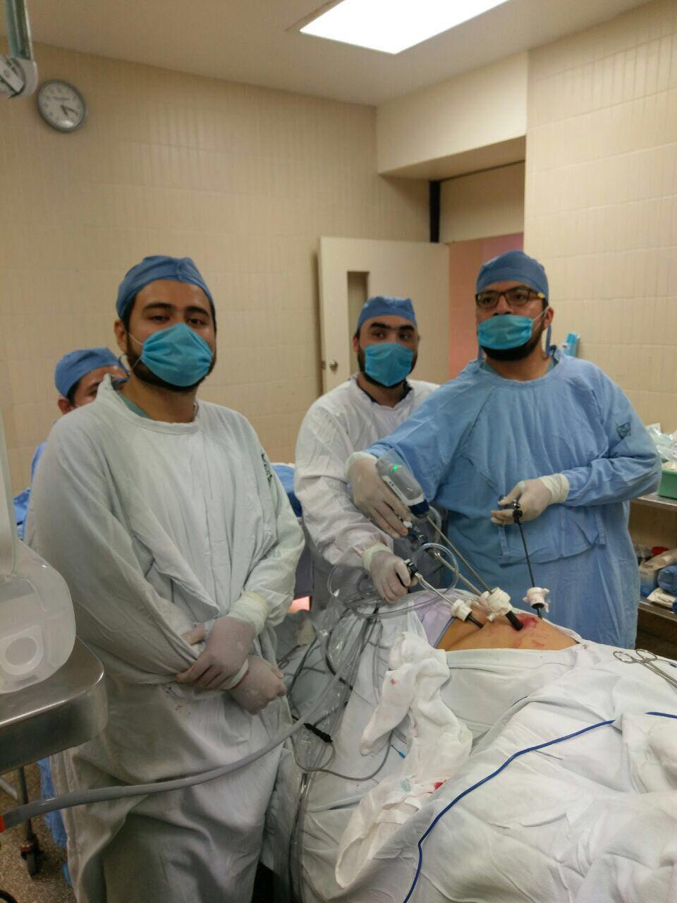 cirugía clásica de cáncer de próstata versus laparascopia