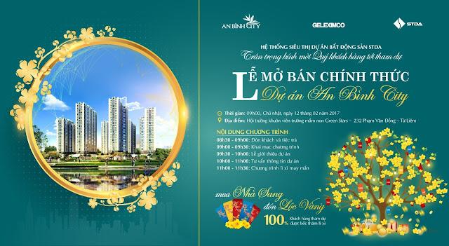 Lễ mở bán khai xuân dự án An Bình City