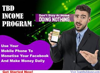 TBD income program review