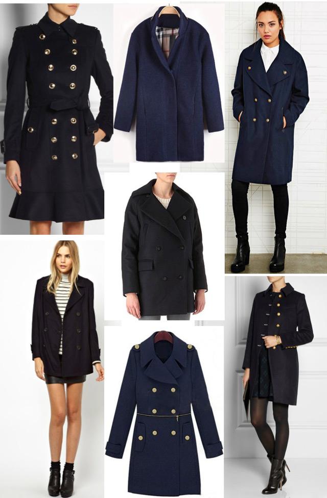 Tamnoplavi kaput - zimski klasik