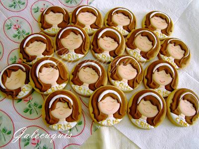 galletas decoradas primera comunión glasa