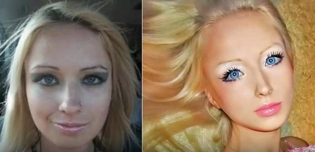 Barbie Valeria Lukyanova Tidak Seperti Boneka Lagi Karena ini Penyebabnya