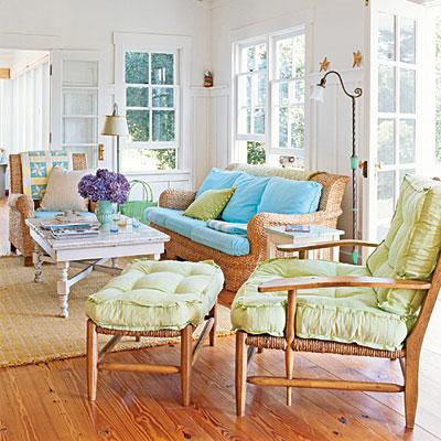New home design ideas theme design ideas in coastal - Beach house living room ...
