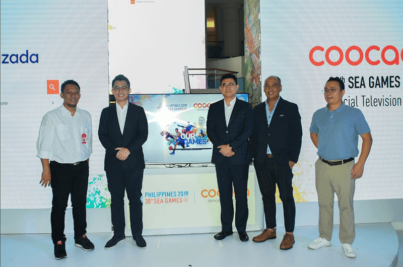 Coocaa is the official platinum partner for SEA Games 2019