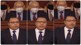 """(بالفيديو)هشام المشيشي : """" يهدد لن نخرج من هذه الازمة الا بعد.."""