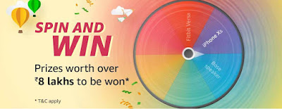 Amazon Spin & Win Offer