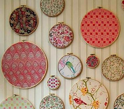 How Pictures Made From Fabric Scraps 7