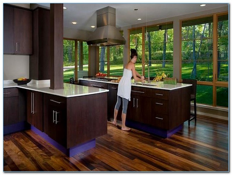 Contemporary Kitchens With Dark Cabinets Home Interior Exterior Decor Design Ideas