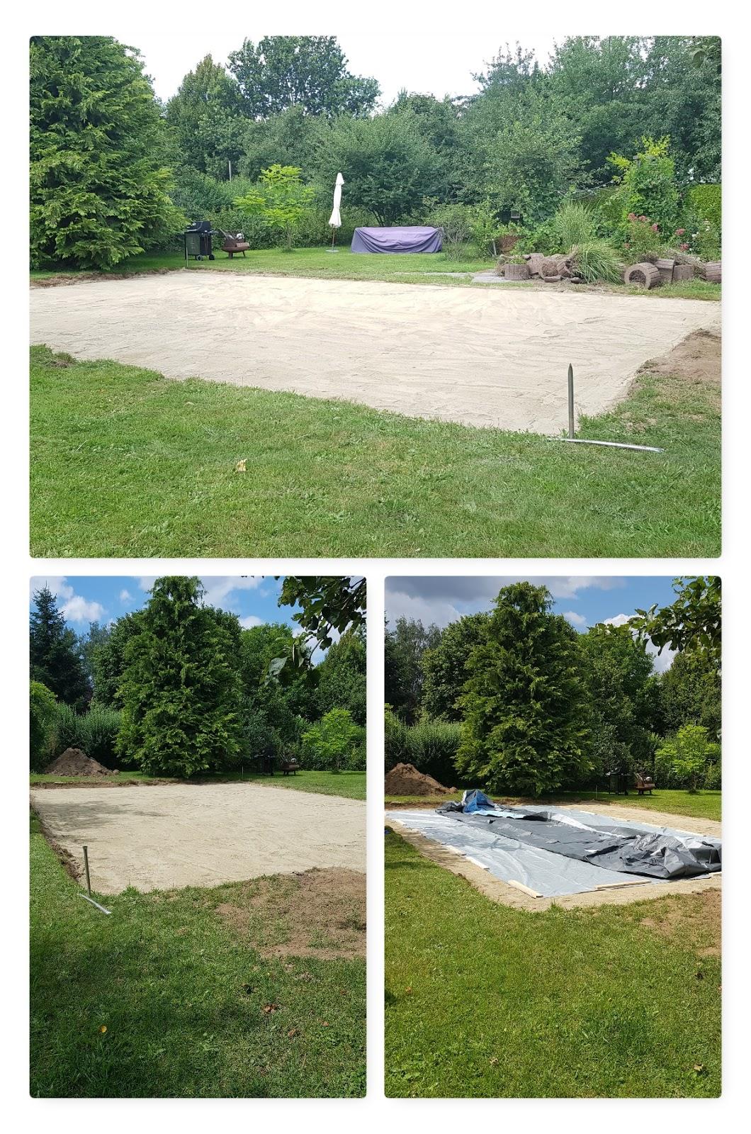 Swimmingpool Aufbau Intex Frame Pool Set Ultra Quadra selberbauen Pool Garten Aufbauanleitung Erfahrung