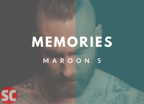 Memories Guitar Chords - Maroon 5 | Adam Levine