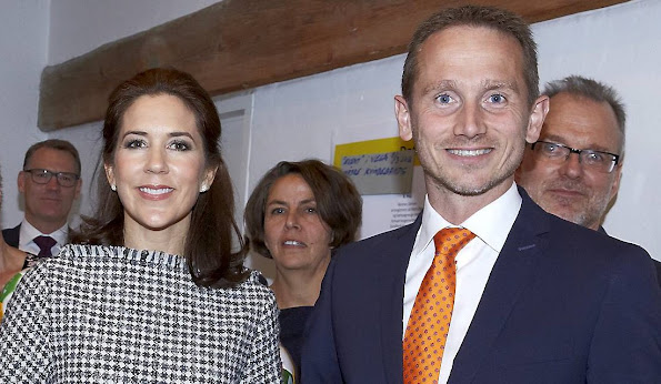 "Crown Princess Mary of Denmark attended a ""Women Deliver Committee Meeting"" at the Ministry of Foreign Affairs in Copenhagen"