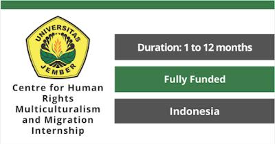 تدريب ممول في مركز التعددية الثقافية لحقوق الإنسان والتدريب الداخلي للهجرة في اندونيسيا