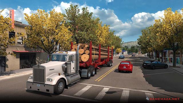 American Truck Simulator Washington Gameplay Screenshot 3