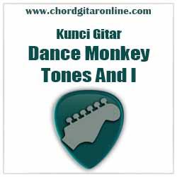 Chord Dance Monkey Tones And I