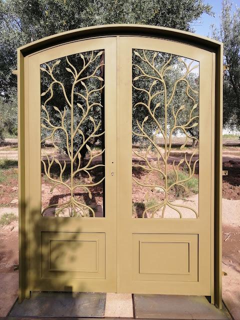 Porte arbre deux vantaux
