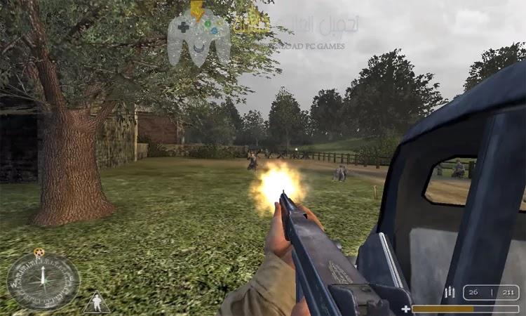تحميل لعبة Call of Duty 1 للكمبيوتر بحجم صغير