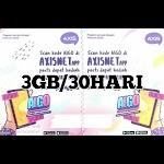 Voucer Axis 3GB/30HARI